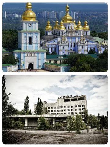 Autobusový zájezd do Černobylu na Ukrajině