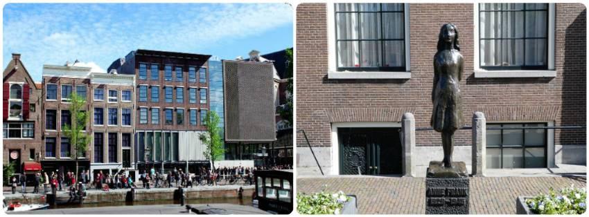 Dům Anny Frankové Amsterdam ceny lístků otevírací doba