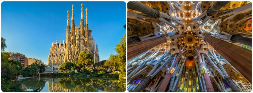 Sagrada Familia v Barceloně vstup ceny mapa