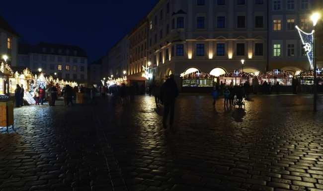 Vánoční trhy Olomouc Dolní náměstí