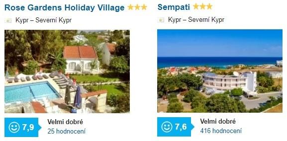 Nejlepší hotely na Kypru recenze hotelů srovnání