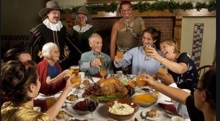 Státní svátky USA Den Díkůvzdání