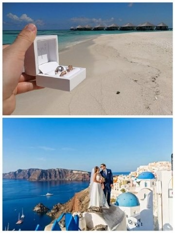 Svatba u moře v zahraničí dovolená