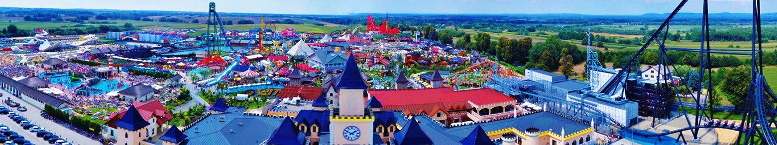 Zábavní park Energylandia v Polsku