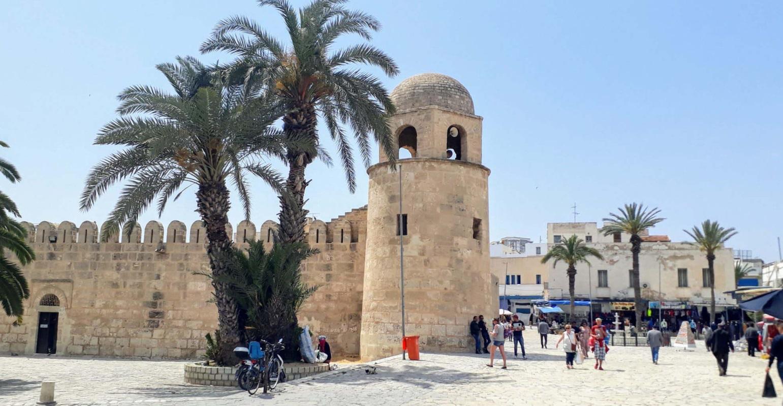 Historické památky Sousse v Tunisku