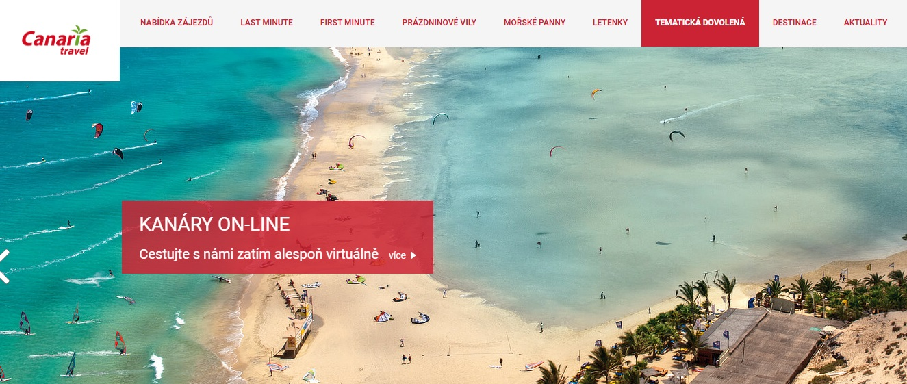 Recenze cestovní kanceláře Canaria Travel