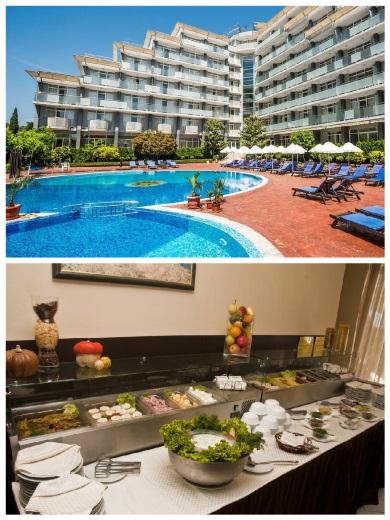 Akční zájezd v září do hotelu Perla v Bulharsku all inclusive