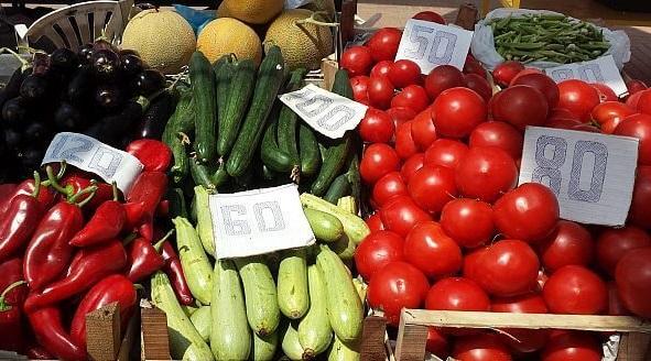 Ceny zeleniny v Albánii