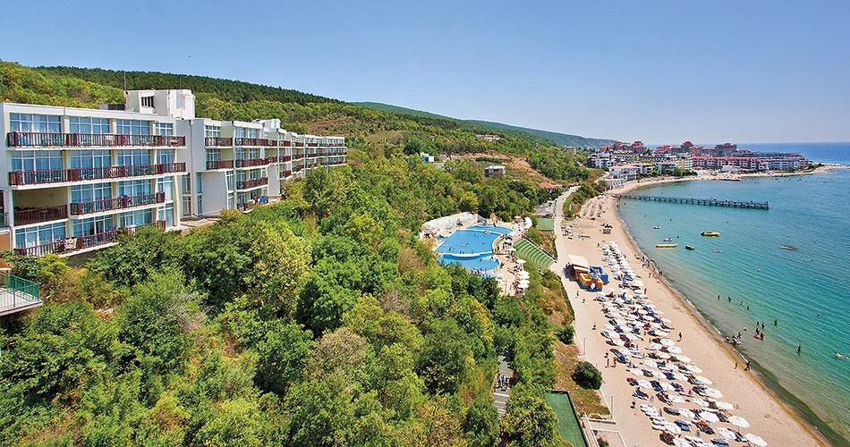 Prázdný hotel v Bulharsku Paradise Beach